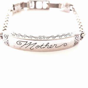 Vintage Brighton Mother Emblem Bracelet